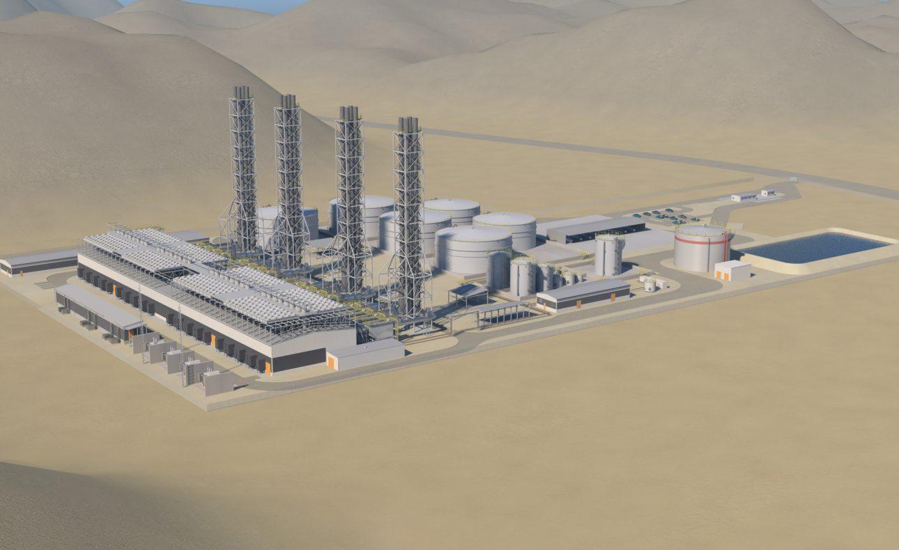 Wärtsilä tri-fuel power plant, Amman, Jordan