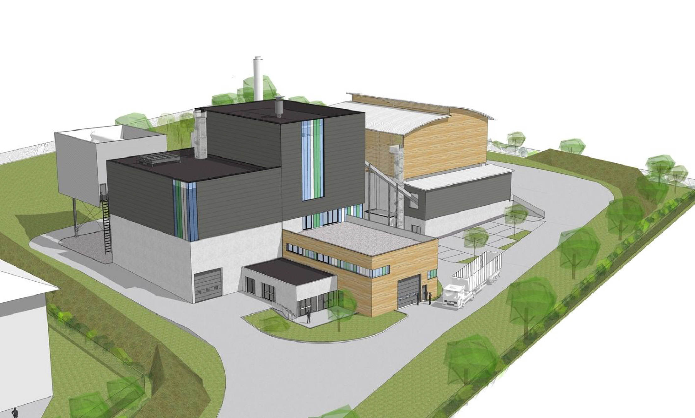 Full EPCM services for 20 MW biomass fuelled CHP plant Citec